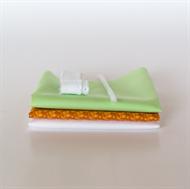 Image de Set pour robe de poupée supplémentaire - Orange - Vert Pastel Frais