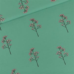 Bild von Blossom Twigs - M - French Terry - Flaschengrün