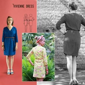 Picture of Robe Vivienne - Patron de Couture