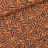 Afbeelding van Leaves - M - Viscose - Rayon - Boksvelgeel