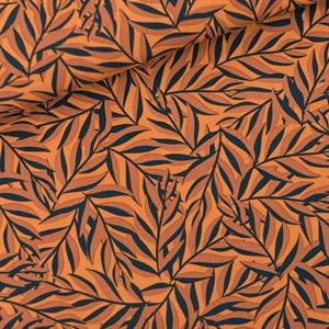 Bild von Leaves - M - Viscose - Rayon - Wildledergelb